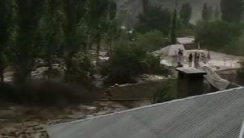 YENİ GÖRÜNTÜLER! Van'daki sel felaketinden 14 kişilik aile böyle kurtuldu! - Haberler