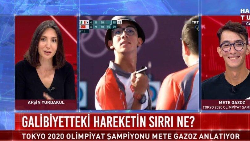 Mete Gazoz olimpiyat şampiyonluğunu anlattı: