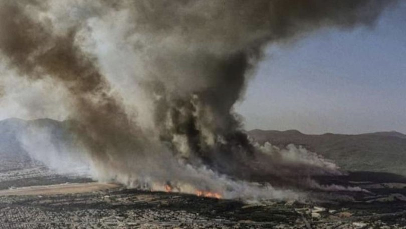 KOMŞU YANIYOR! Son dakika: Yangın Başkent Atina yakınlarına kadar ulaştı!