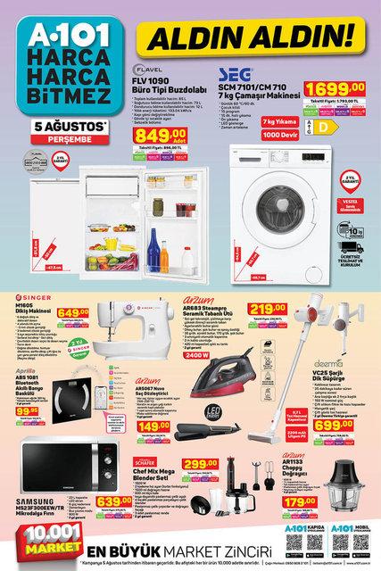 A101 BİM aktüel ürünler kataloğu! A101 BİM 5-6 Ağustos aktüel kataloğu! İşte tüm liste