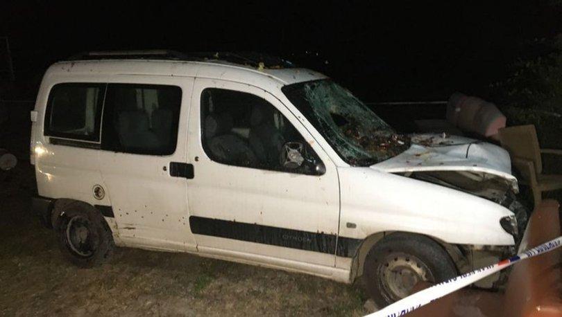 Bartın'da muhtarın hafif ticari araçla çarptığı eski muhtar öldü