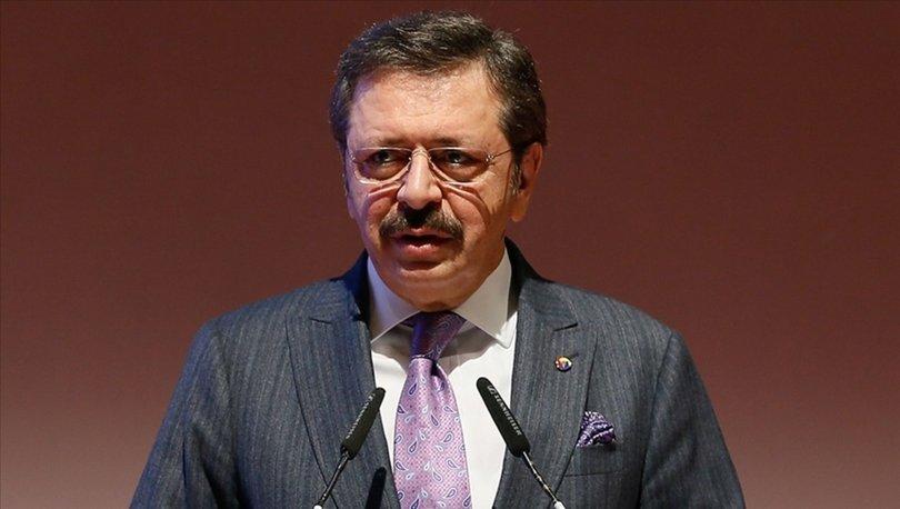 TOBB Başkanı Hisarcıklıoğlu: 1,5 milyon üyemiz adına 1,5 milyon fidan bağışında bulunuyoruz