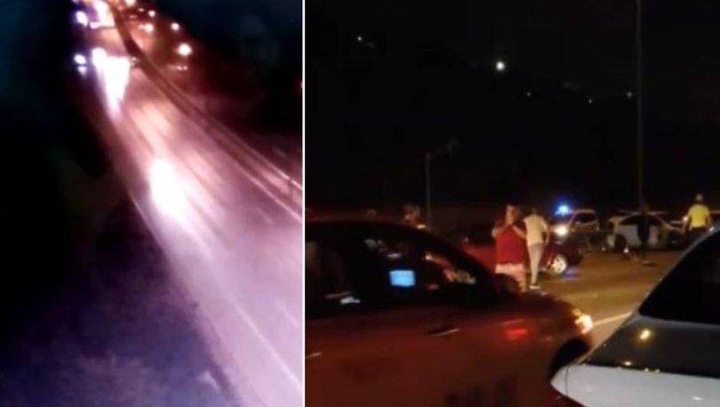 FECİ KAZA KAMERADA! Son dakika: Kazazedeler yardıma gelen polise çarptı: 1 ölü, 2 yaralı