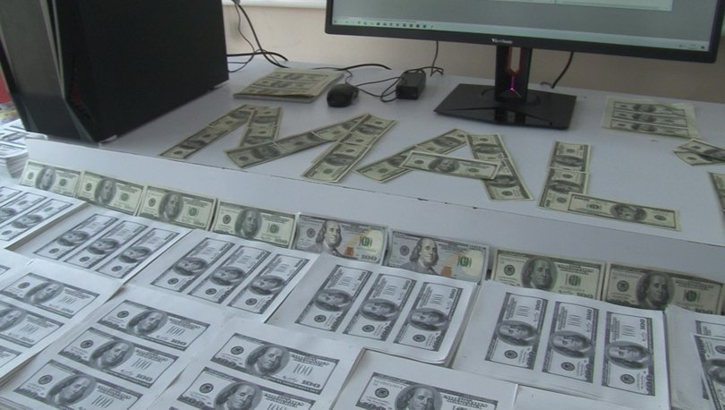 SON DAKİKA HABERİ! Lüks rezidansta milyonlarca sahte dolar bastılar!