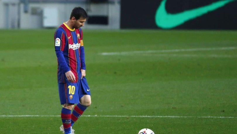 Son dakika! Messi, Barcelona'dan ayrıldı!