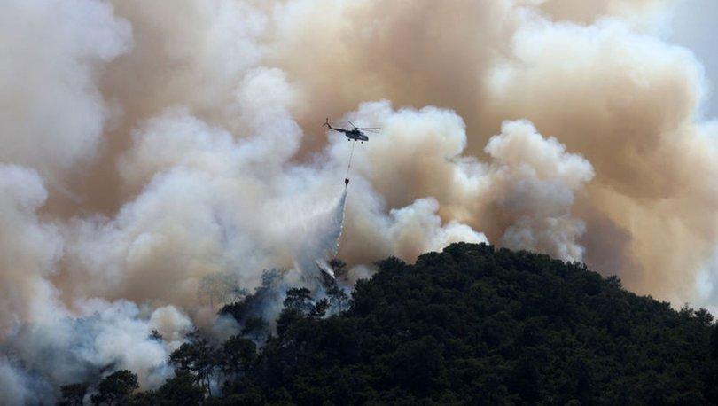 Orman yangınlarına 9'uncu gün! Manavgat ve Milas'ta tehlike sürüyor