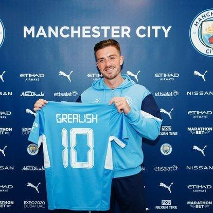 Manchester City, Jack Grealish'i transfer etti