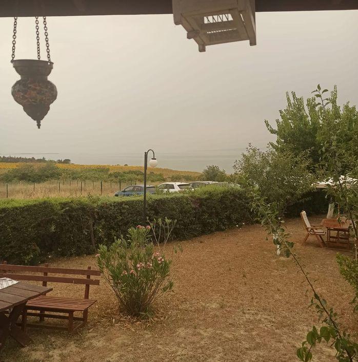 سماء مدينة إزمير صباح اليوم