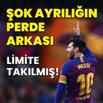 Messi limite takılmış!