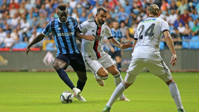 Adana Demirspor: 1 - Beşiktaş: 1 (MAÇ SONUCU)