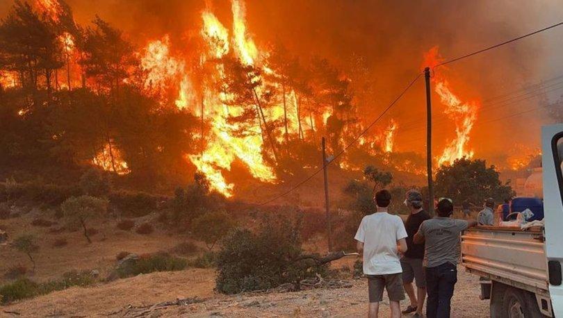 Yangınlar durdu mu? Orman yangınları son dakika: Termik santralde alarm!