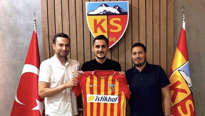 Kayserispor, Mustafa Pektemek'i kadrosuna kattı