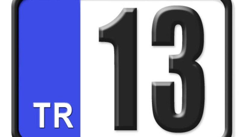 13 nerenin plakası? 13 plaka hangi ilin? 13 plaka kodu nereye ait?