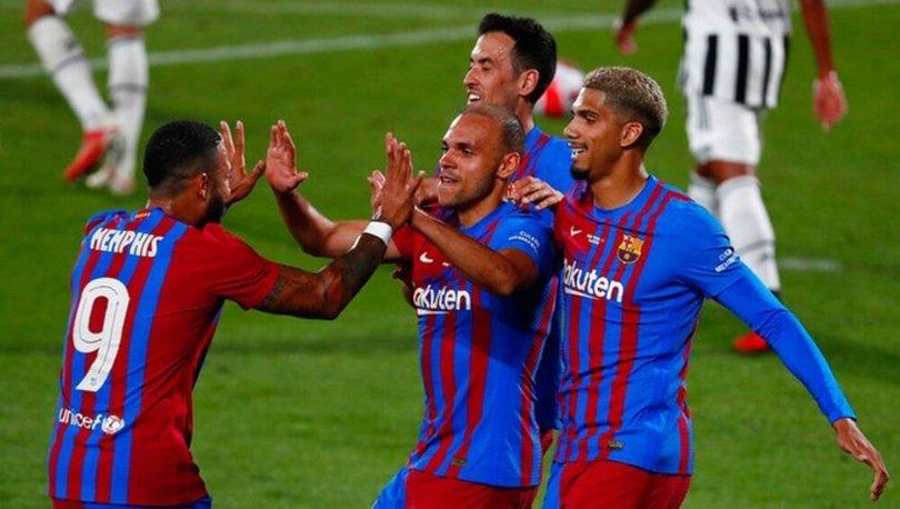 Barcelona: 3 - Juventus: 0 MAÇ SONUCU