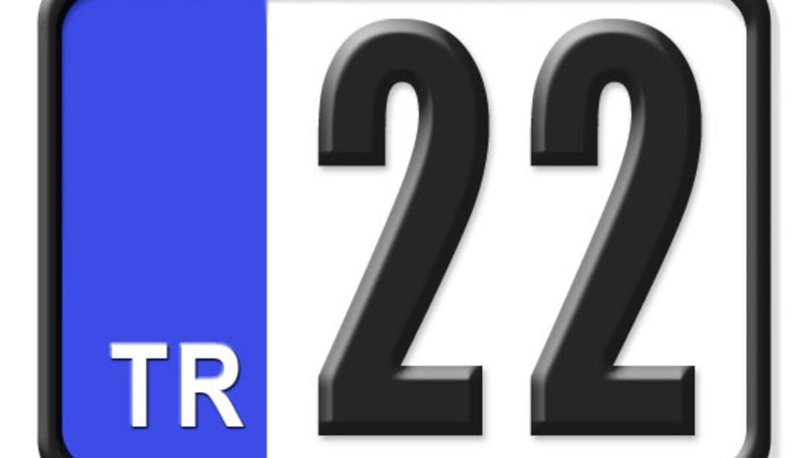 22 plaka numaralı ilimiz hangisidir? 22 nerenin plakası? 22 plakalı şehir