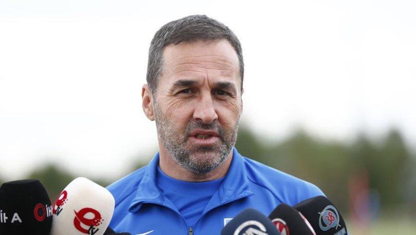 Kayserispor Teknik Direktörü Yalçın Koşukavak: