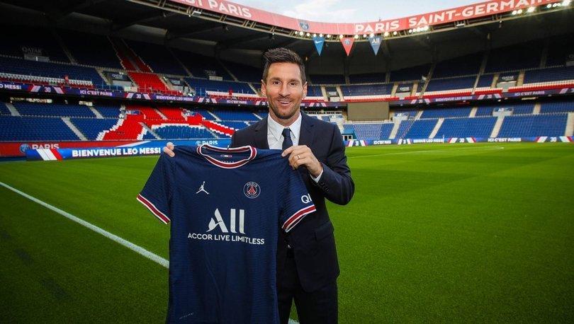 Messi tarihi transfer için Paris'e geldi!