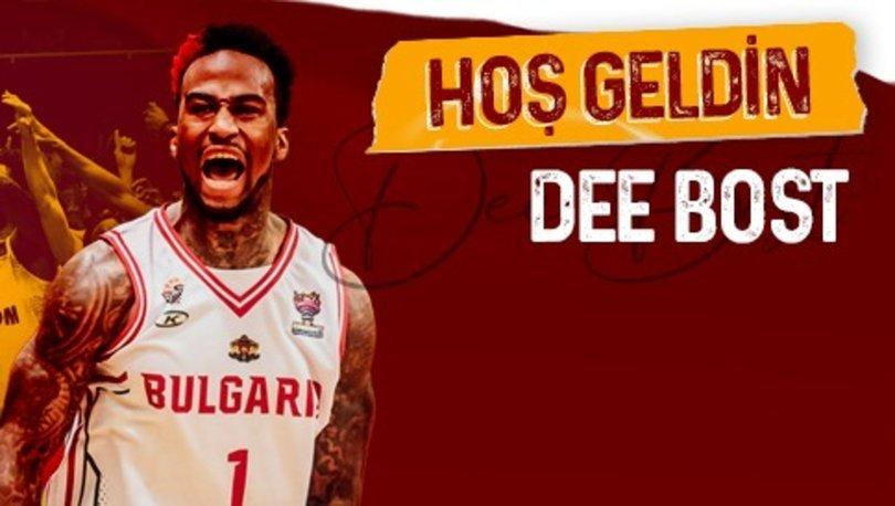 Galatasaray Erkek Basketbol Takımı, ABD'li oyuncu Dee Bost'u transfer etti
