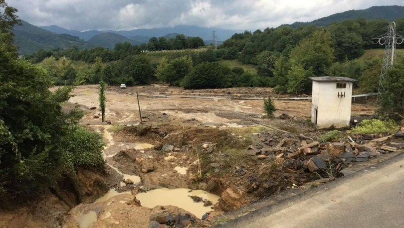 SON DAKİKA SEL! Kastamonu, Sinop ve Bartın'da sel felaketi