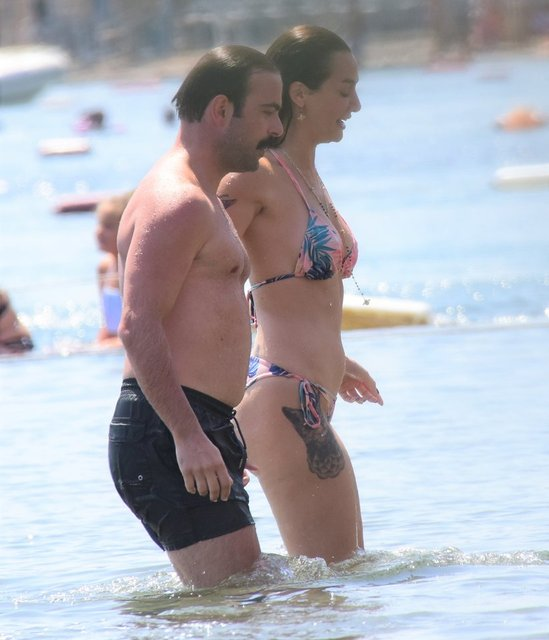 Birce Akalay ile Erdem Hamza'nın aşk tatili - Magazin haberleri