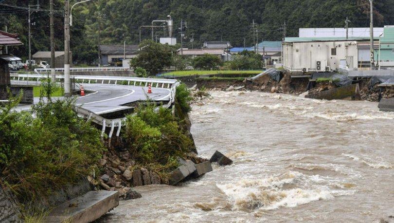SON DAKİKA: Japonya'da aşırı yağışlar sonrası yaklaşık 1,5 milyon haneye tahliye çağrısı