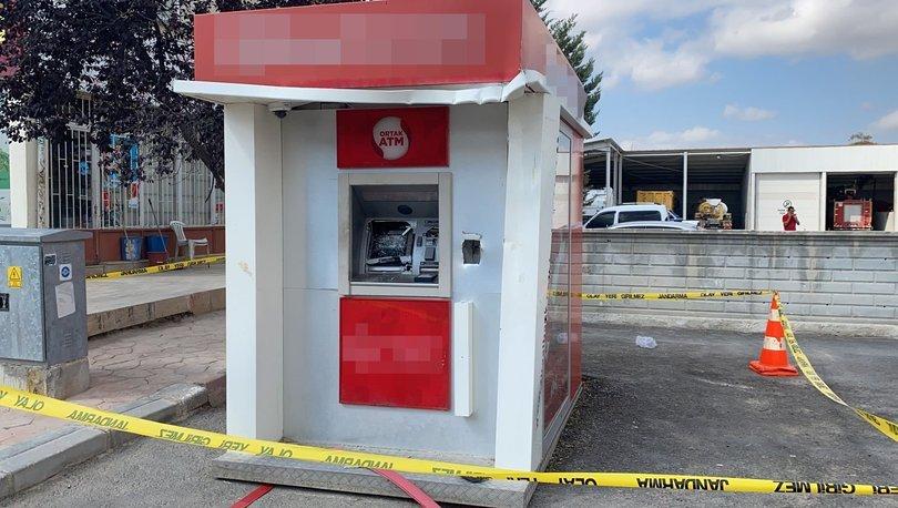 Akılalmaz olay! ATM'ye forkliftle saldırdı - Haberler