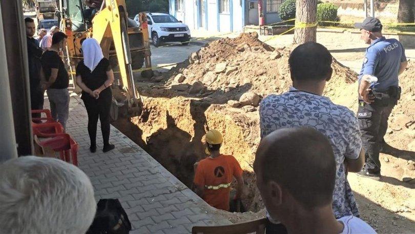 İzmir'de altyapı çalışmaları sırasında küp ve seramik parçaları bulundu