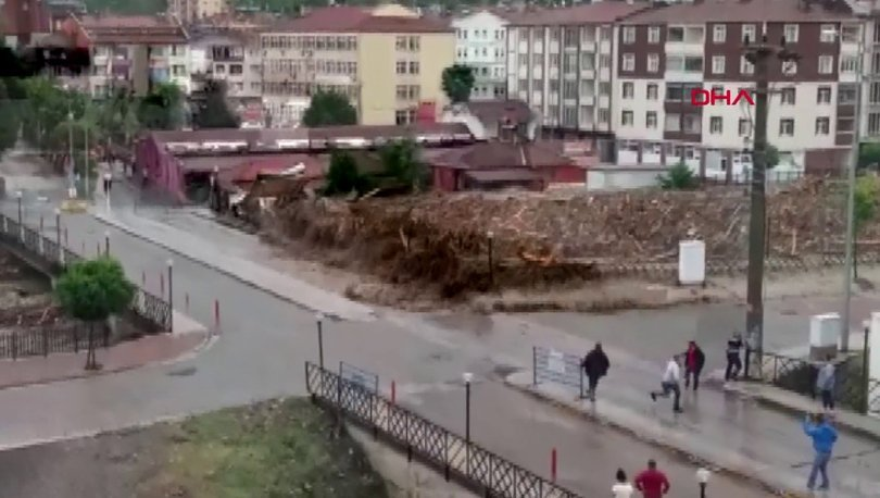 SON DAKİKA! Kastamonu Bozkurt sel felaketinde dehşete düşüren görüntüler! - Haberler