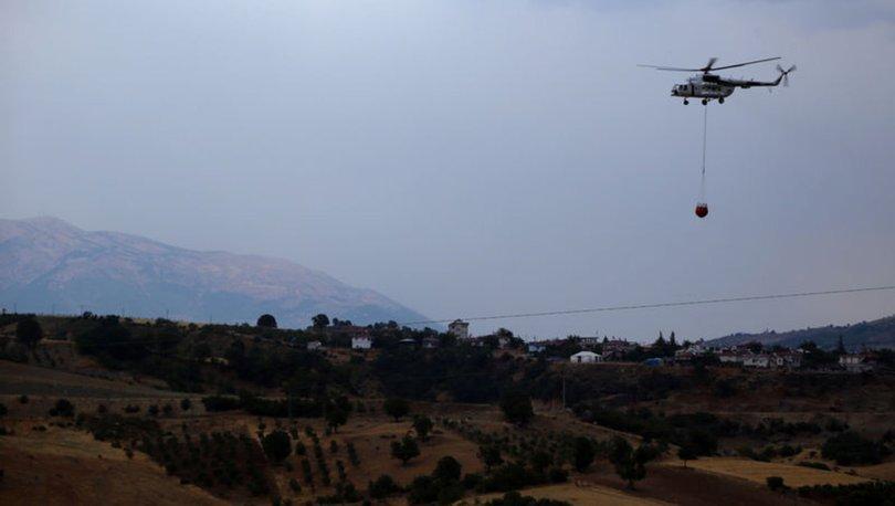 HAVADAN DESTEK VERİLİYOR! Son dakika: Kahramanmaraş'ta orman yangını - Haberler