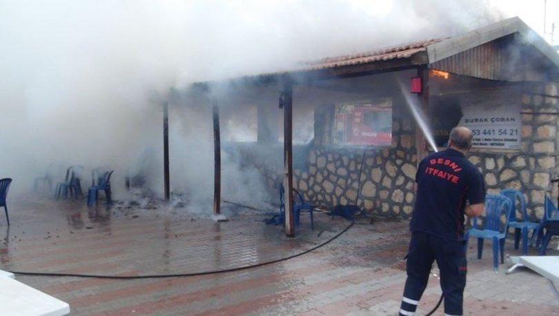 Latif Doğan'a ait düğün salonunda yangın çıktı - Son dakika haberleri