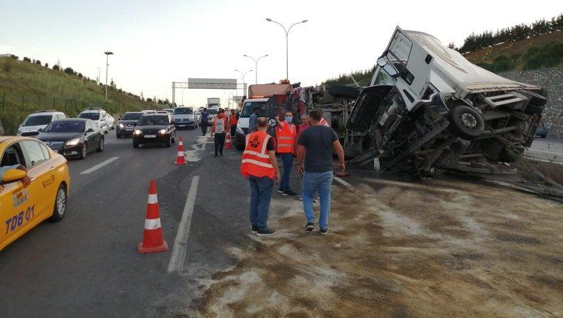 İstanbul'da iki ayrı noktada feci kaza!