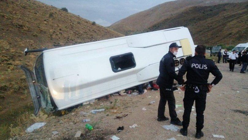 Kayseri'de korkunç kaza! 29 kişi yaralandı