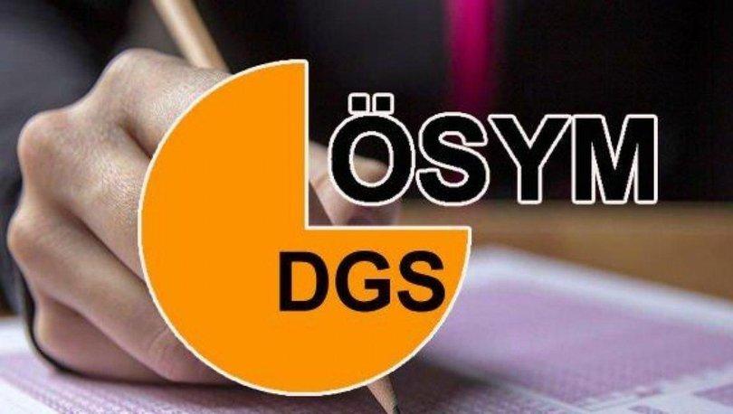 ÖSYM duyurdu! DGS taban puanları ve tavan puanları açıklandı! İşte DGS kontenjanları