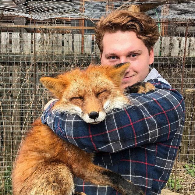 Rus adamın sıra dışı evcil hayvanı! - Haberler