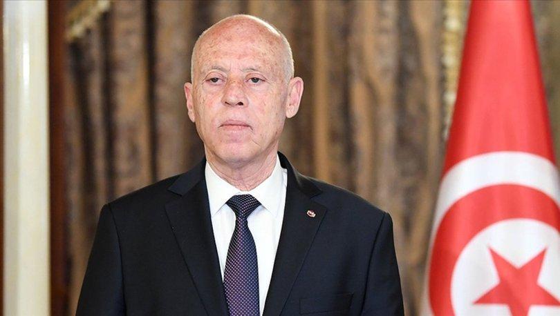 Tunus Cumhurbaşkanı Said, ABD'den gelen resmi heyeti kabul etti