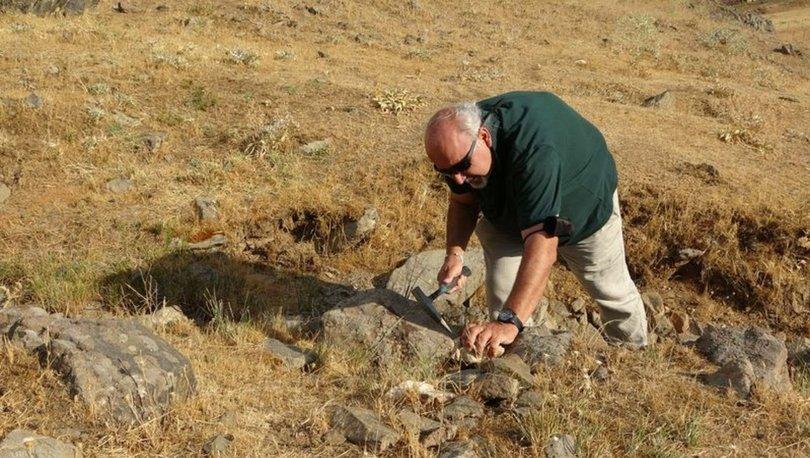 Muş'ta 35 milyon yıllık deniz canlısı fosillerine rastlandı