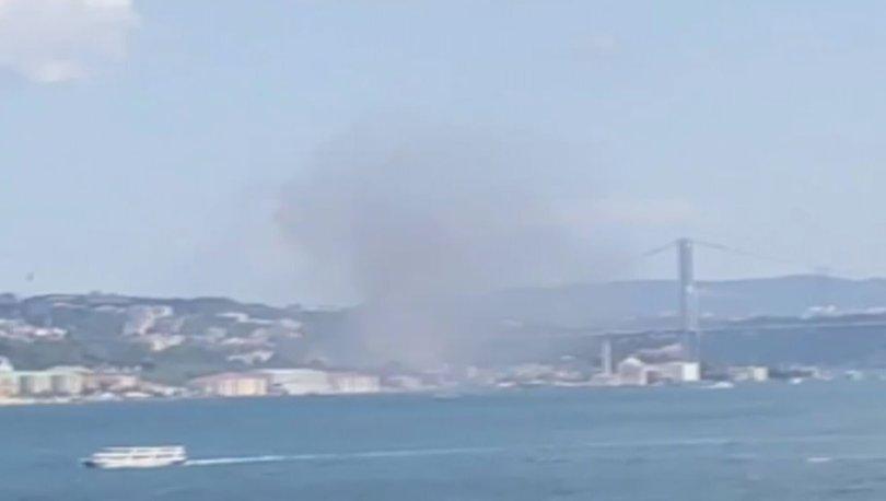 Son dakika haberi Ortaköy'de otel inşaatında yangın çıktı!