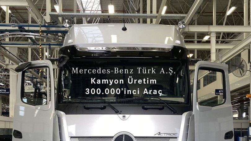 Aksaray'da 300 bininci kamyon bantlardan indi