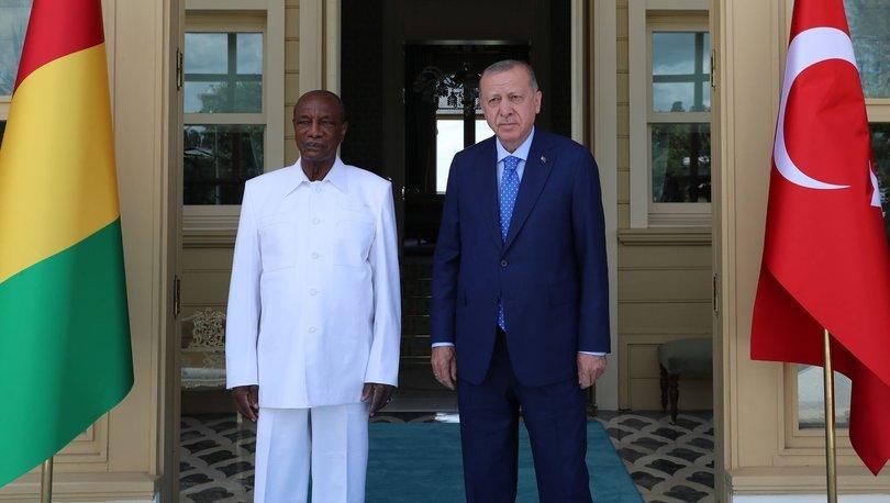 Cumhurbaşkanı Erdoğan, Gine Cumhurbaşkanı ile görüştü - Haberler