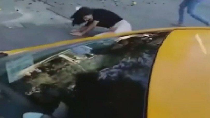 Seyyar satıcı kadına korkunç şiddet! - Haberler