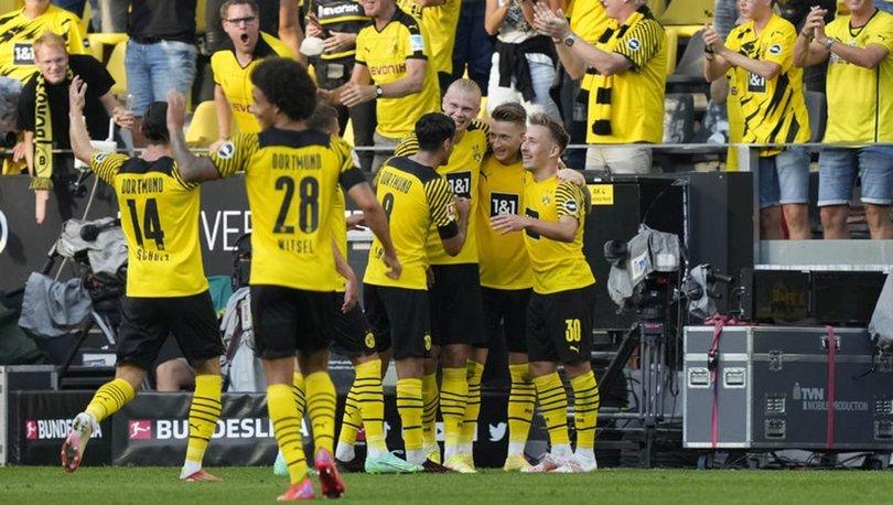 Borussia Dortmund: 5 - Eintracht Frankfurt: 2