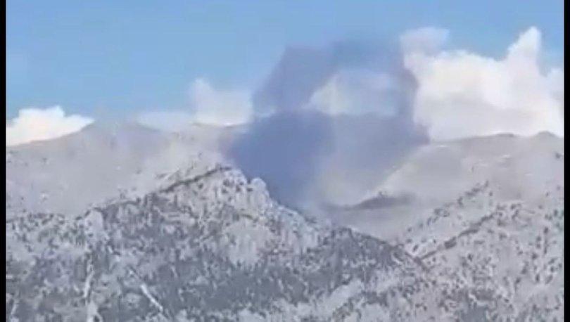 SON DAKİKA! Enkaza ulaşıldı! Kahramanmaraş'ta yangın söndürme uçağı düştü!