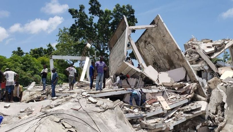 SON DAKİKA! Haiti'de deprem! 227 kişi hayatını kaybetti