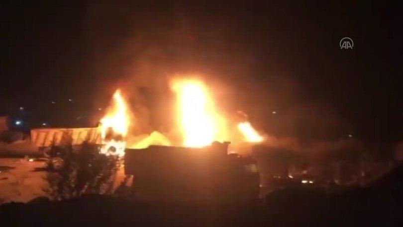 Lübnan'da tanker patladı: En az 20 ölü, 79 yaralı