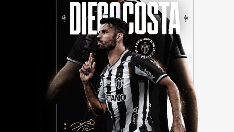 Atletico Mineiro, Diego Costa'yı transfer etti