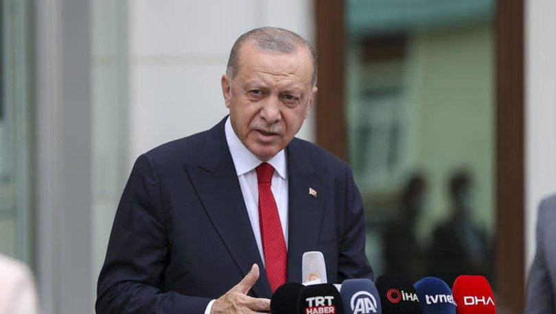 Son dakika: Cumhurbaşkanı Erdoğan: Türkiye'de bir yalan terörü estiriliyor