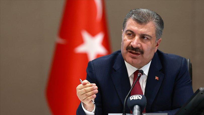 Sağlık Bakanı Fahrettin Koca'dan başsağlığı mesajı