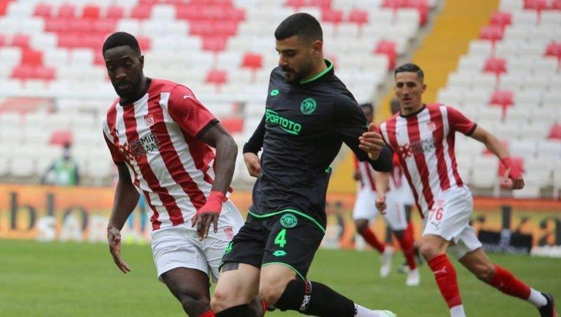 Sivasspor ile Konyaspor 25. kez karşılaşacak