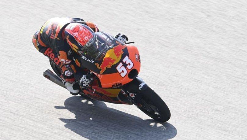 Milli motosikletçi Deniz Öncü, Avusturya'da ikinci olarak podyuma çıktı