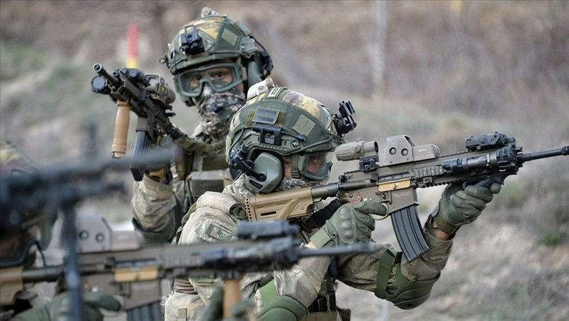 Barış Pınarı Harekatı bölgesinde 4 PKK/YPG'li terörist etkisiz hale getirildi